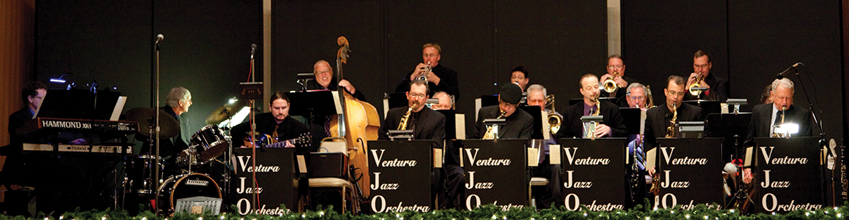 The Ventura Jazz Orchestra performing at The Poinsettia Pavilion, Ventura, CA