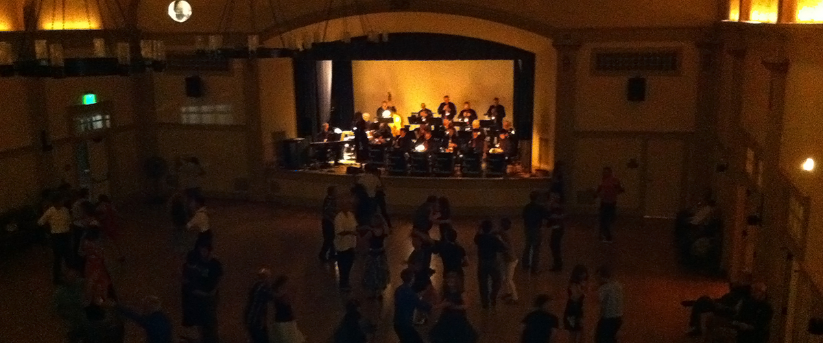 The Ventura Jazz Orchestra, Cabrillo Rec Center in Santa Barbara, CA